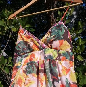 Candie's floral maxi dress